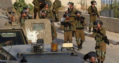 عملیات گسترده رژیم صهیونیستی در نابلس و رامالله