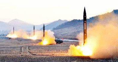 کره شمالی چند فروند موشک کوتاهبرد شلیک کرد