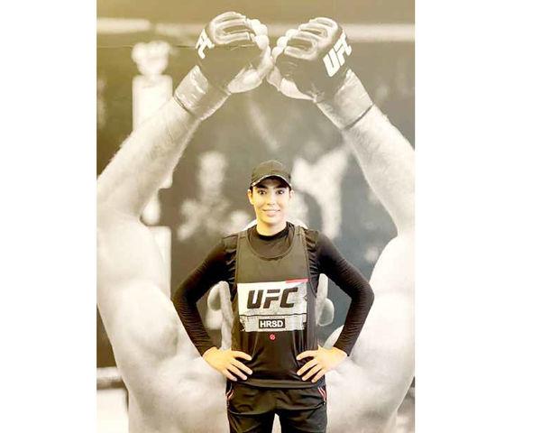سهیلا منصوریان: کمربند قهرمانی UFC را میخواهم