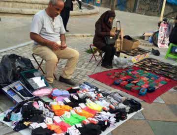 روزهای سخت دستفروشان و کمک بنیاد مستضعفان