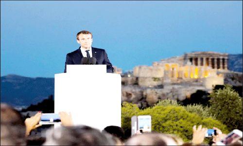 ایدههای  ناپلئونی  ماکرون  برای تحول اروپا
