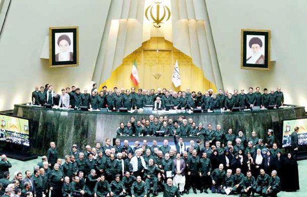 حمایت   قاطـع بهارستان از سپاه