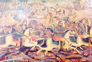 تابلو نقاشیهای احمد خلیلی ثبت ملی میشوند