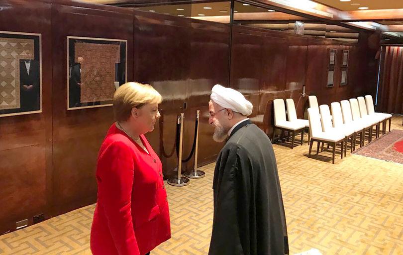 نخستین دیدار صدر اعظم آلمان  با رئیس جمهوری