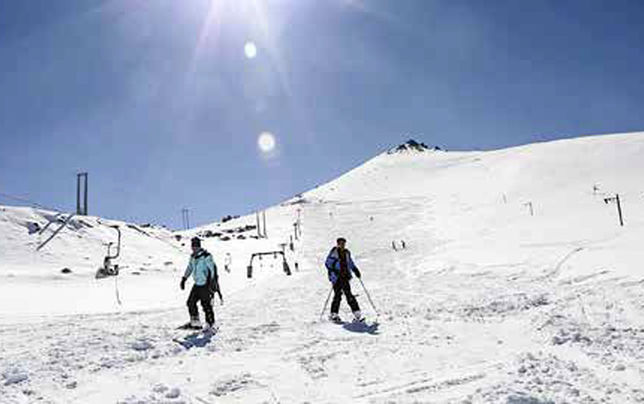 تب نهچندان تند گردشگری زمستانی در ایران