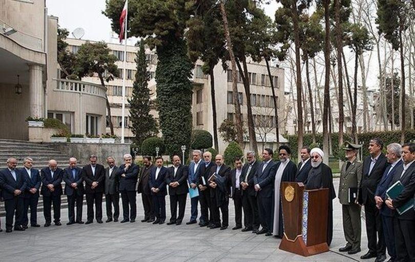 بیانیه هیات دولت در پیِ توهین به رئیسجمهور