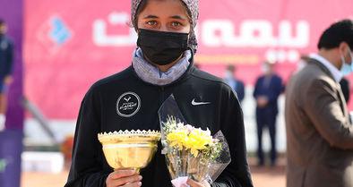 قهرمانی ماندگار فرزامی در تور جهانی تنیس