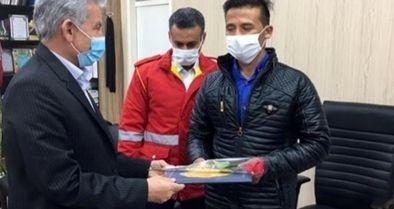 قدردانی شهرداری دزفول از ایثارگری یک کارگر