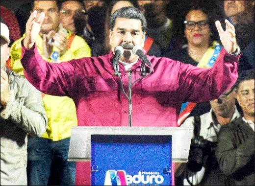 نزاع مادورو بـرای  بـقا