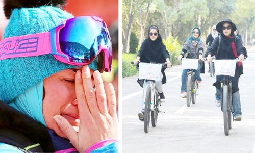 ممنوعالخروجی زنان معضل است نه دوچرخهسواریشان