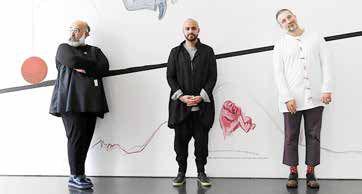 نمایشگاه سه هنرمند ایرانی در فرانکفورت آلمان