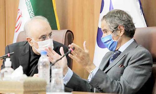 اروپا   نگران، گروسی در    راه  تهران