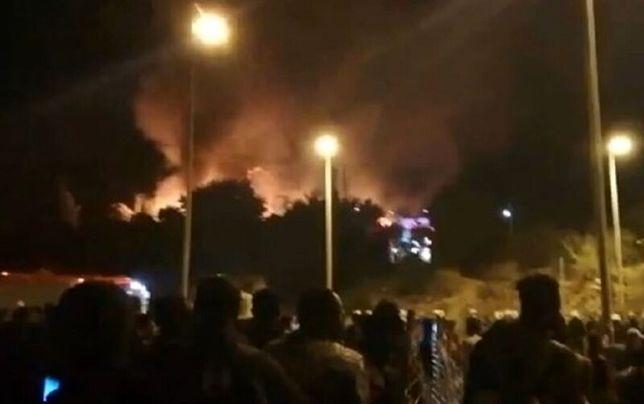 ادامه درگیری وآتشسوزی در محل نگهداری پناهجویان در یونان