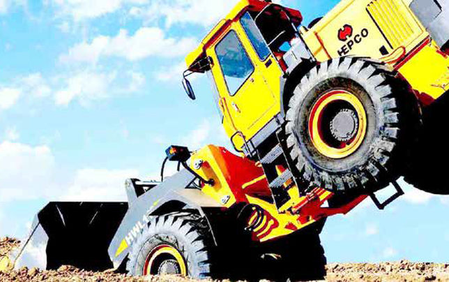 غول تولید ماشینهای راهسازی به خاک افتاده است