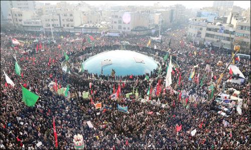 جهان؛ حیران از   وداع تهران