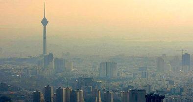 هوای تهران در وضعیت  قرمز است