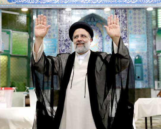 سیدابراهیم رئیسی، پیروز انتخابات ریاستجمهوری شد