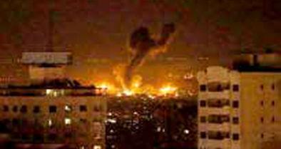 ادامه حملات هوایی و توپخانهای رژیم صهیونیستی به غزه