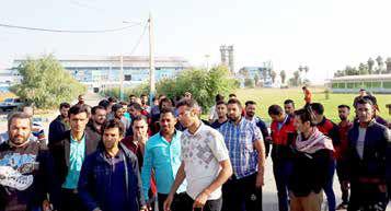 کارگران شرکت قند شوش تجمع کردند