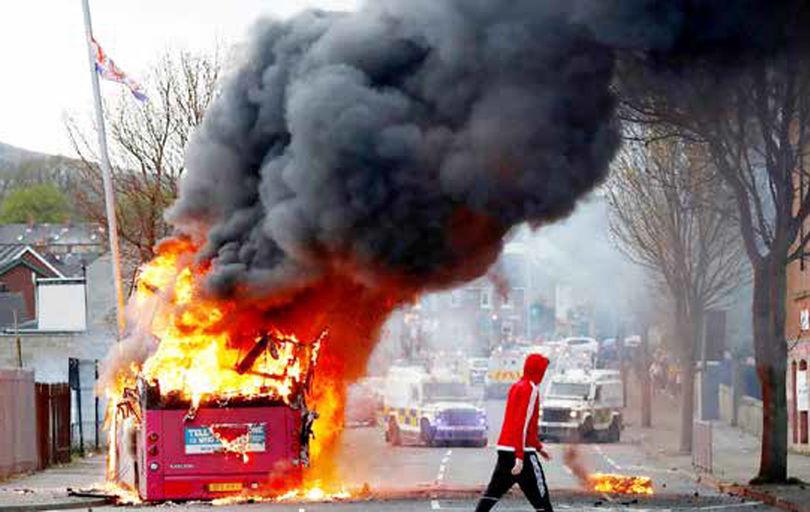 پایان سه دهه توقف خشونت در بلفاست